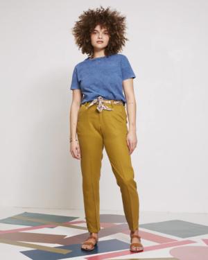 pantalón de verano,chino de color kaki