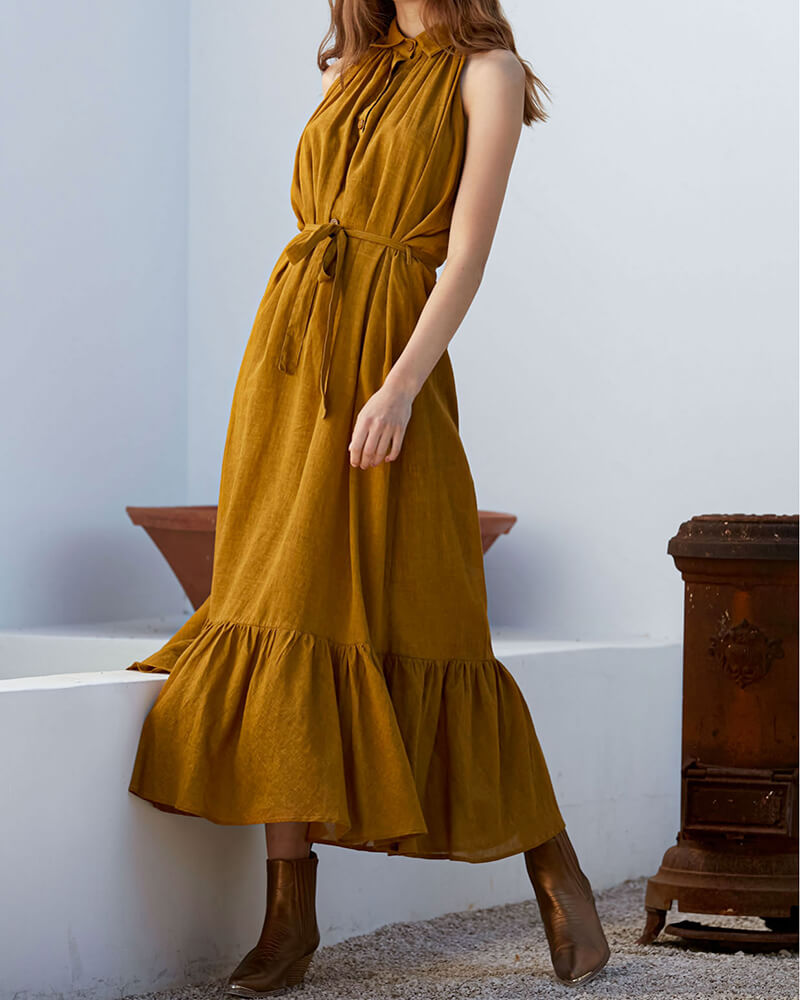 vestido-mesdemoiselles-largo-mostaza